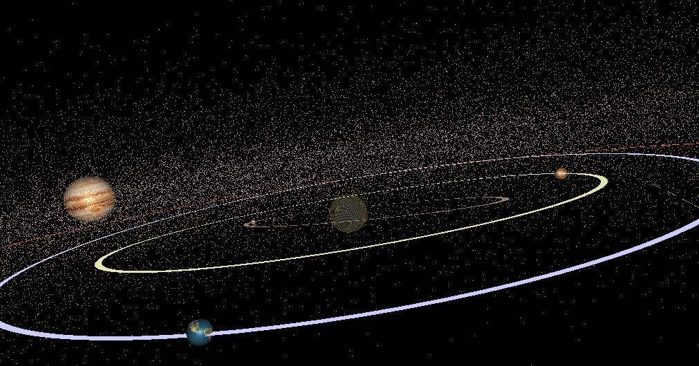 Solar System Simular