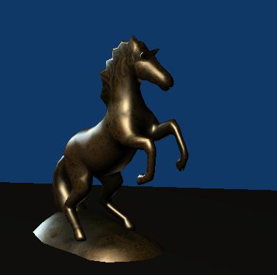 Blender model in x3dom webpage