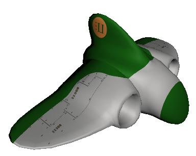 x3dom space ship