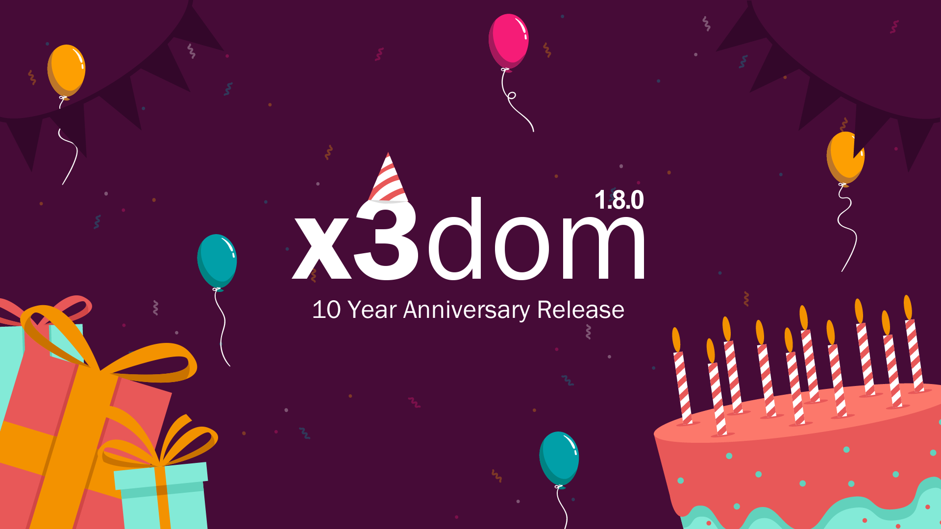 x3dom - 10 Year Anniversary Release