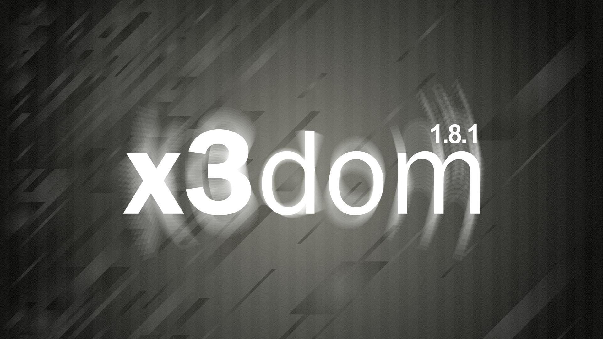 X3DOM 1.8.1